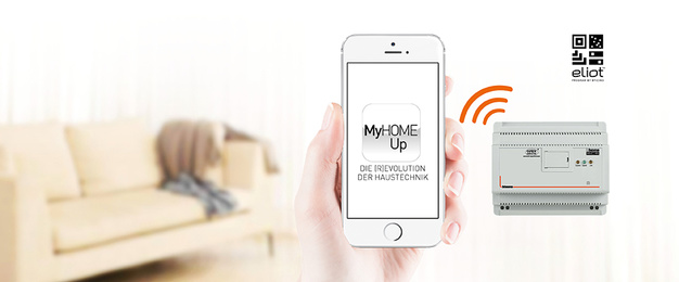 MyHOME / MyHOME_Up bei Ing. Lothar Kunze Elektro GmbH in Halle